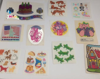 Big Lot Of Vintage 1980s 80s Stickers #11