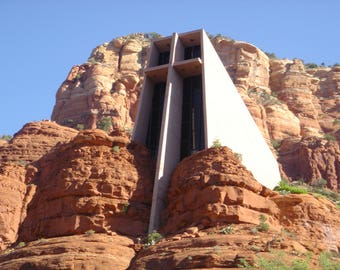 Chapel of the Holy Cross - Sedona - Arizona - Instant Download