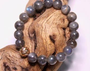 Labradorite Yoga Bracelet