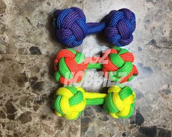 Two tone Knuckroller - Fidget toy - Skill toy - Begleri - restless hand toys - anxiety relief - finger dexterity
