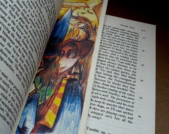 Brand Page Harry Potter, Ron Weasley (Art drawing Bookmark)