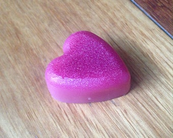 Melting Wax for Fragrance Burner - Valentine's Day with Rose - Natural Soy Wax - Vegan & Cruelty Free