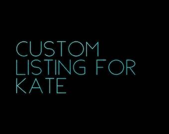 Kate's Custom Neon Sign