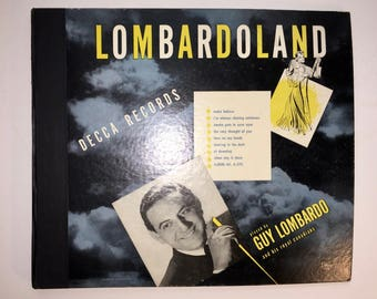 "Guy Lombardo 78 Records ""Lombardo Land"" Fox Trots"