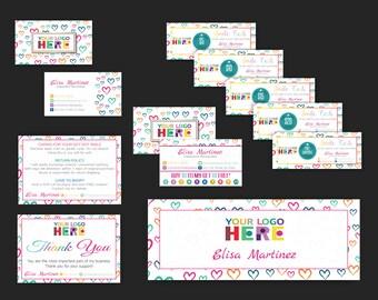 Dot Dot Smile Kit, Dot Dot Smile Marketing Kit, DDS Marketing Bundle, DDS Marketing Set, Personalized Card, Printable Items DS19