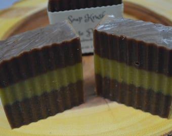 Chocolate Peppermint Bar Soap