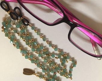 Celadon Bicone Eyeglass Keeper