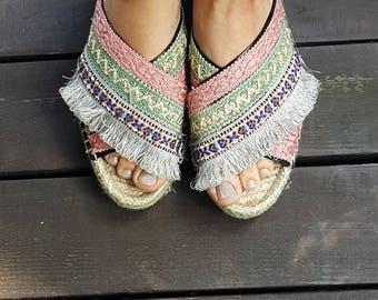 """Manja Whenua - """"poudre"""", handmade shoes"""