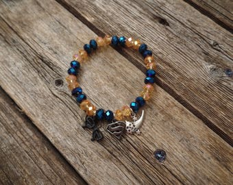 Supergirl Karamel Inspired Stretch Bracelet