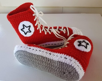Converse Inspired Ladies Slippers