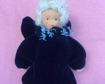 Waldorf dolls, whale village Angel, guardian angel, lucky charms, Christmas Angel, Angel, gift for girls, school, kindergarten start,