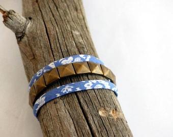 Liberty spikes Bronze diamond bracelet