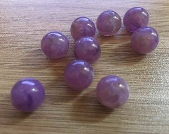 set of 20 Acrylic beads 12 mm