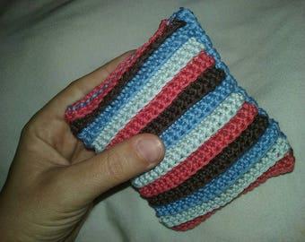 Crocheted towel
