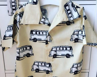 Boys campervan shirt