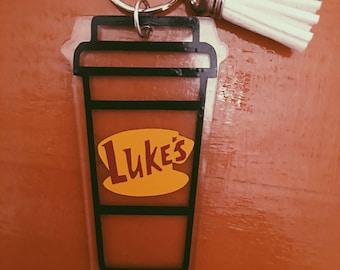 Gilmore Girls, Luke's Diner Keychain with tassel