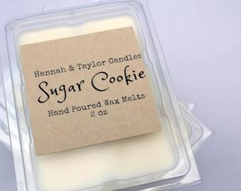 Sugar Cookie Scented Soy Wax Melt | Freshly Baked Cookies Handmade Wax Tart | Sweet Sugar Cookie Candle | Warm Cookie Soy Wax Melt | Baked