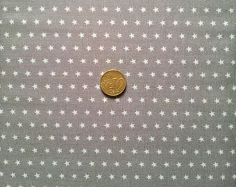 Taupe - star light taupe - 70 x 50 cm - Frou Frou fabric