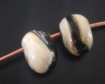 Beads of Lampwork Glass bird-