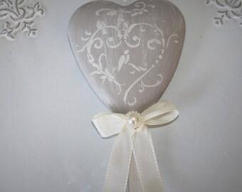 Scented heart shaped lollipop