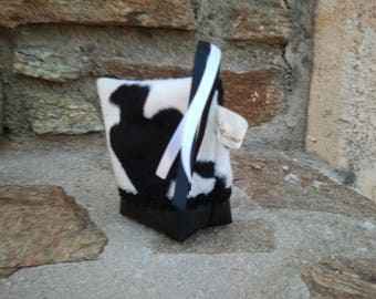 wallet or pouch Cow costume