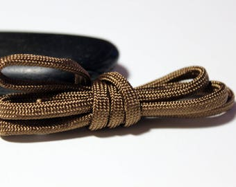 Paracord 550 Nylon Ø 4 MM - Brown thread ideal survival bracelet