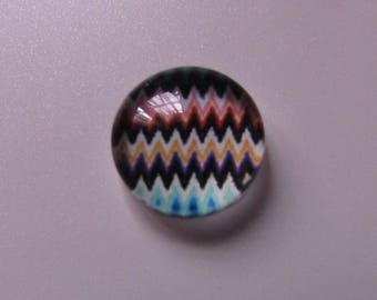 glass cabochon 10mm in diameter