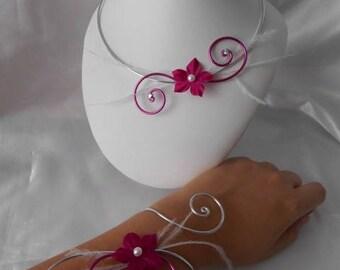 Wedding SOPHIE 2 piece necklace & bracelet set