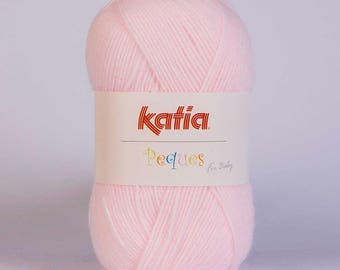 Easter from Katia 84903 light pink color wool