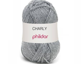 CHARLY from PHILDAR colours flannel yarn