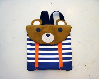 Bear nursery/preschool backpack