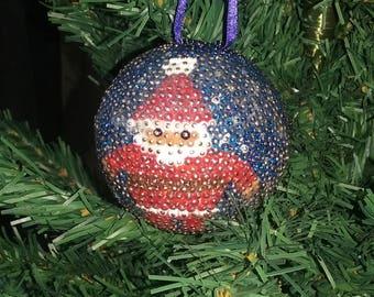 Ball beads - Santa Claus
