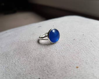 Midnight Blue Adjustable ring
