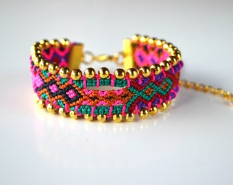 "Brazilian dish ""Kara"" (OOAK) bracelet"