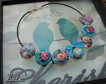 The June challenge necklace English romance