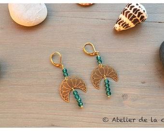 Art déco earrings