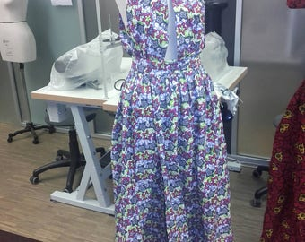 Agen front split maxi gown