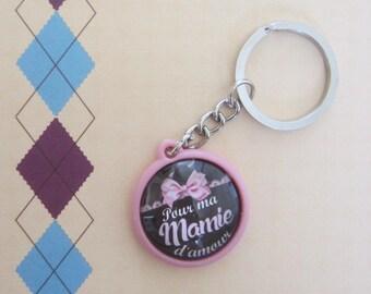 "Gift for Grandma: doors-keys ""for my Grandma with love"""