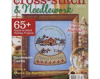 Cross-Stitch & Needlework, Holiday 2015