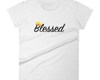 Blessed Women's short sleeve t-shirt