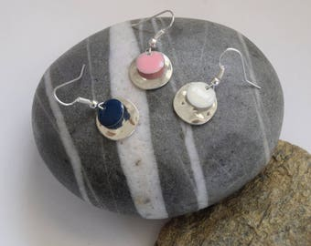 """Earrings """"Round and co."""""""