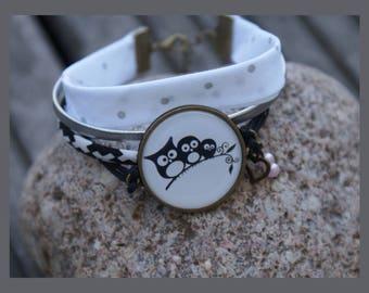 """""""OWL family"""" women bracelet"""