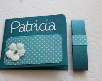 Gift idea! Customizable color card holder case