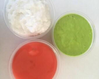 Sushi slime trio