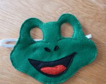 Children's Frog Mask