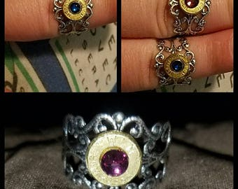 Adjustable bullet ring