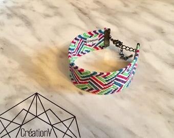 Beautiful colorful Friendship Bracelet