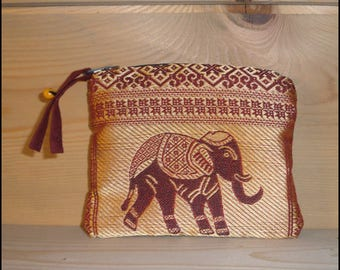 """Red Elephant"" POUCH"
