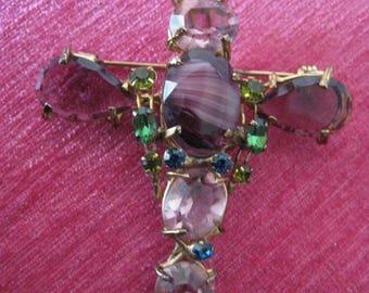 Vintage brooch Dragonfly