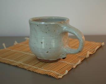 Gray Rustic Earthy Mug